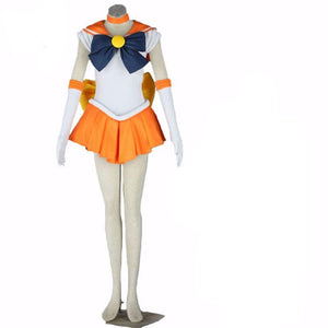 Anime Sailor Moon Sailor Venus Aino Minako Cosplay Halloween