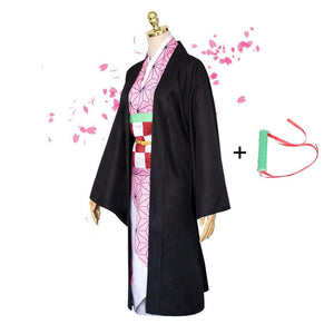 Anime Demon Slayer / Kimetsu no Yaiba Kamado Nezuko Cosplay Costume