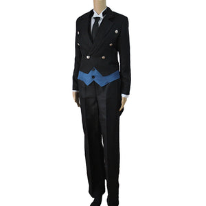 Anime Black Butler Sebastian Michaelis Cosplay Costume Halloween Costume