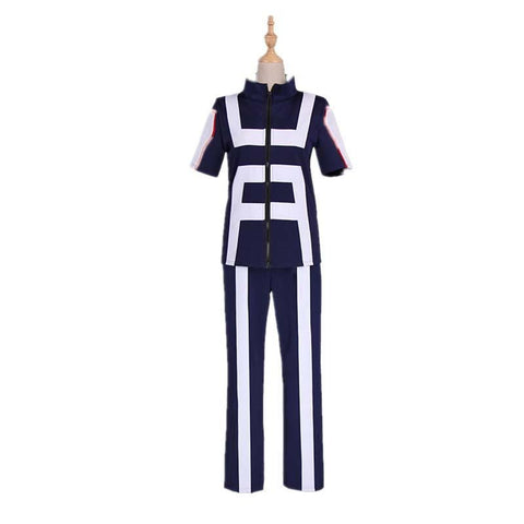 Boku No Hero / My Hero Academia Training Suit Cosplay Costumes