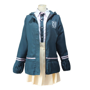 Danganronpa 2: Goodbye Despair Nanami ChiaKi Costume Cosplay Uniform With Coat