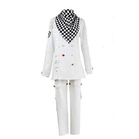 Danganronpa V3: Killing Harmony Ouma Kokichi Cosplay Costume White Uniform Halloween Costume