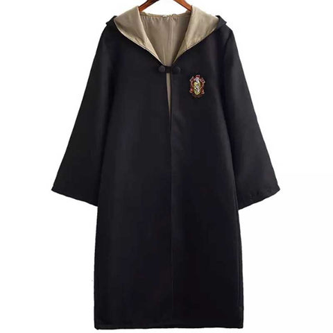 Kid's Unisex Harry Potter Hogwarts Robe Cloak Hufflepuff Costume Halloween/Stage Performance/Party
