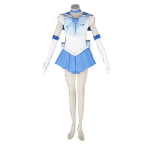 Sailor Moon Sailor Mercury Mizuno Ami Cosplay Costume Halloween