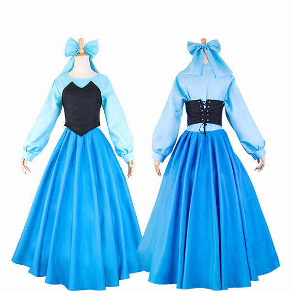 Adult Women Disney Little Mermaid Ariel Princess Dress Costume Halloween / Stage Performance / Party