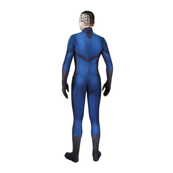 Fantastic Four Bodysuit Spandex Cosplay Costume Zentai Adults