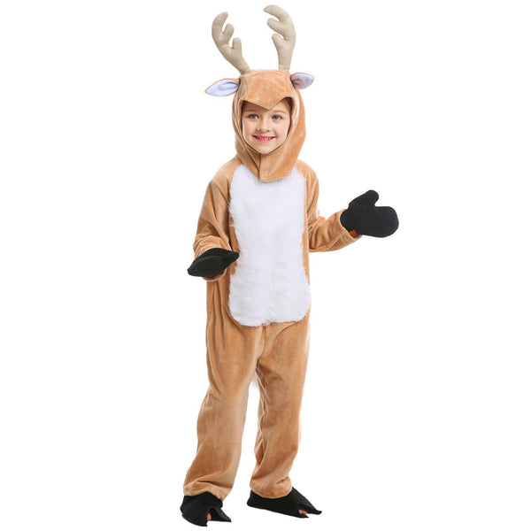 Kids Unisex Deer Halloween Costume Deer Cosplay Kigurumi
