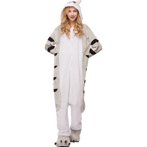 Kigurumi Animal Onesies Chi the Cat Hoodie Pajamas