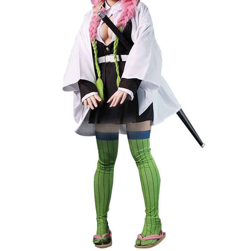 Anime Demon Slayer / Kimetsu no Yaiba Kanroji Mitsuri Cosplay Costume New Version