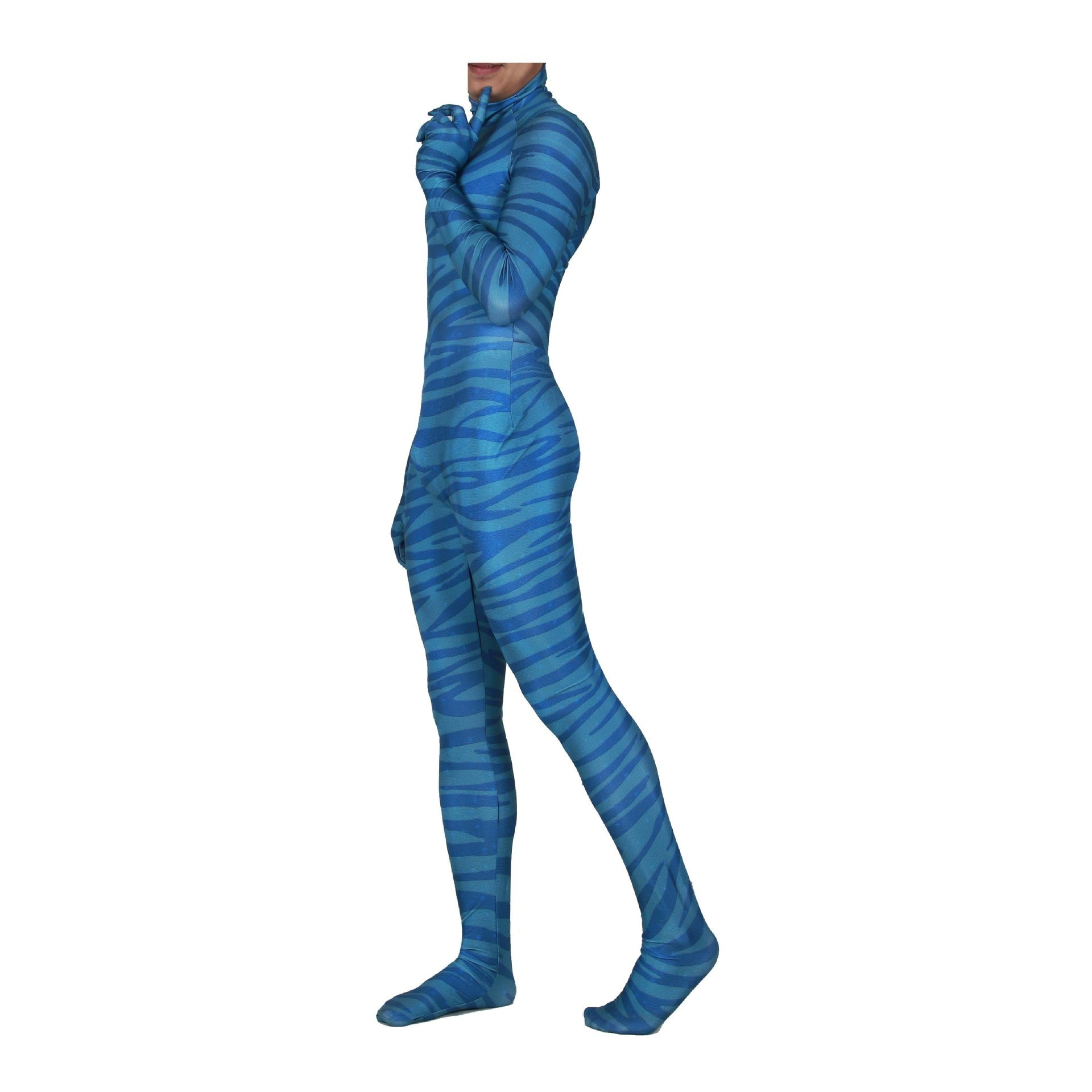 Kids/Adults Avatar Pandora's Skin Jumpsuit Halloween Cosplay Costume