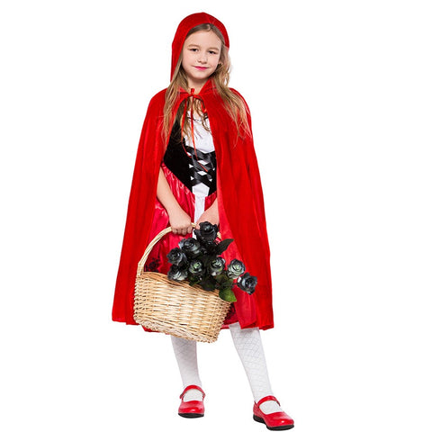 Kids/Girl Classic Little Red Riding Hood Costume
