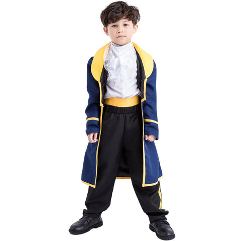 Kids Boys Prince King Halloween Cosplay Costume