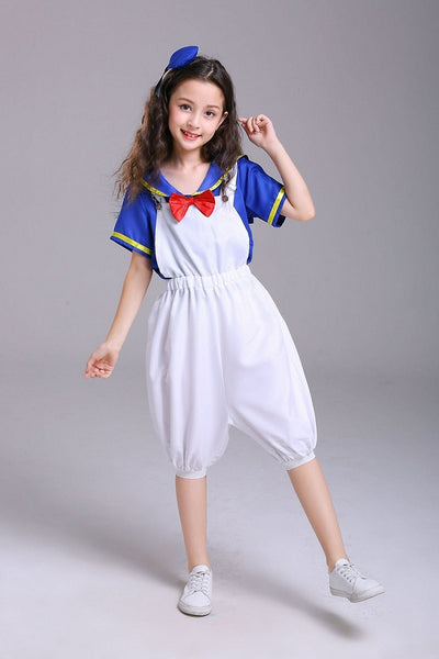 Kids Donald Duck Style Navy Sailor Costume