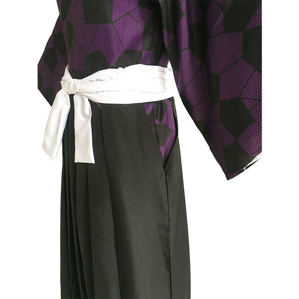 Anime Demon Slayer/Kimetsu No Yaiba Kokushibou Cospaly Costume Full Set