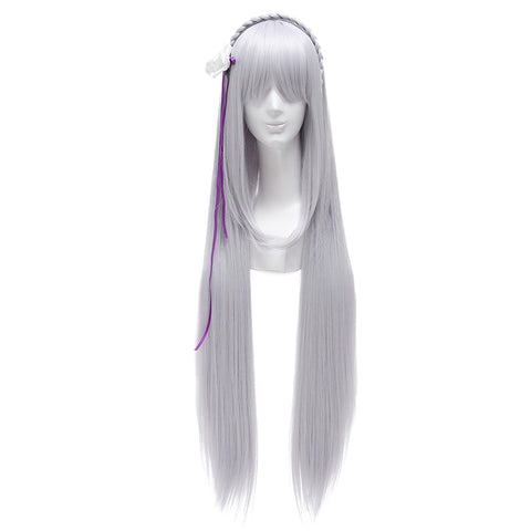 Re:Zero Starting Life in Another World Emilia Coaplay Wigs