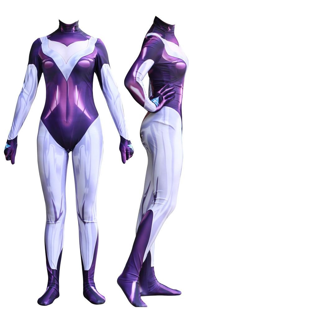 LOL DJ Sona Ethereal Halloween Cosplay Costume Zentai
