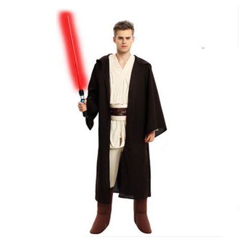 Adult Star Wars Jedi Costume Halloween Stage Performance Party