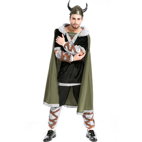 Men Bull Demon King Warrior Cosplay Costume For Halloween Party Performance