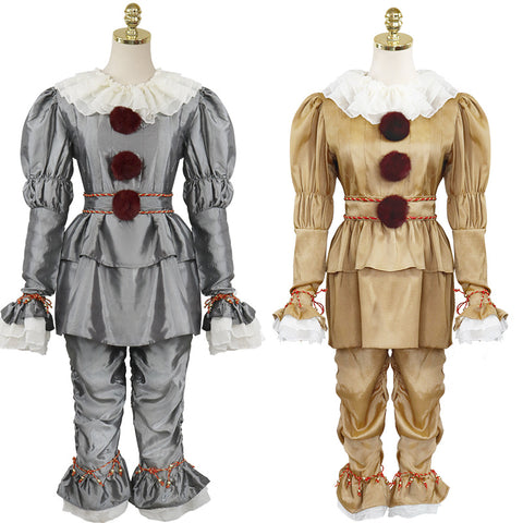Movie It Pennywis Halloween Cosplay Costume Full Set