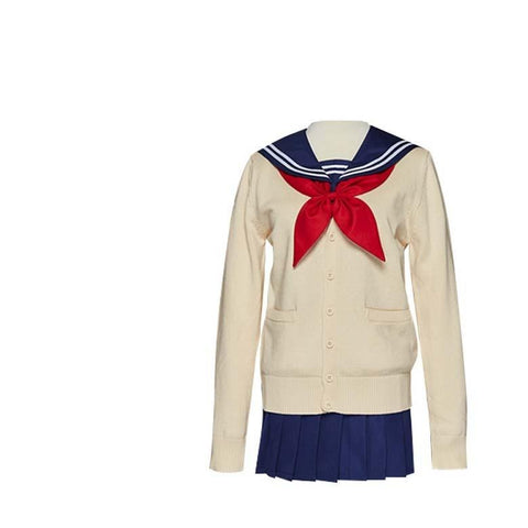 My Hero Academia League of Villains Himiko Toga Uniform Cosplay Costume