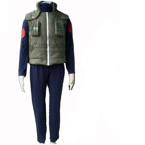 Naruto Hatake Kakashi  Cosplay Costume Top Pants And Jacket