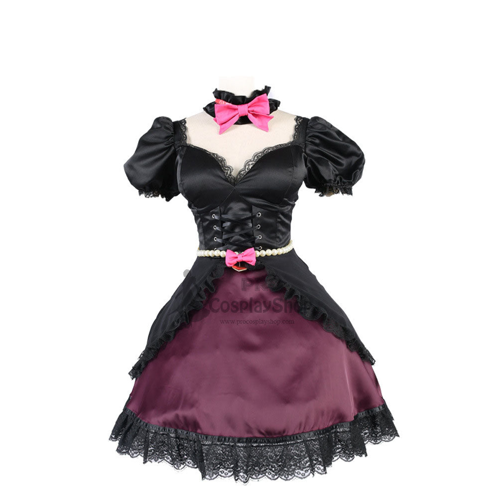 Overwatch D.VA Song Hana Black Cat Cosplay Costume Halloween Cosplay Dress
