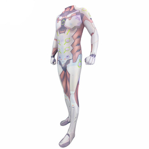 Overwatch Genji Halloween Cosplay Costume Zentai