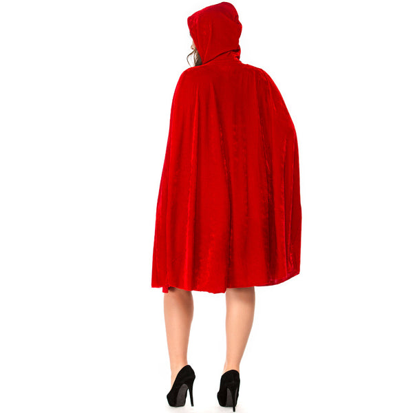 Plus Size Classic Little Red Riding Hood Costume