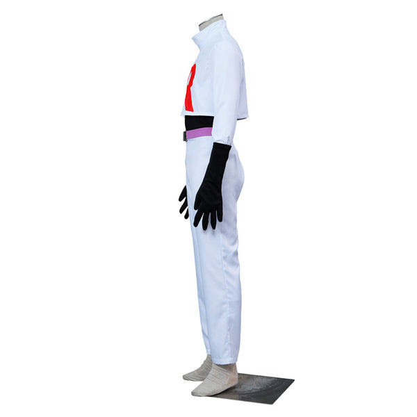 Pokemon Team Rocket Uniform James Cosplay Costume from Pokemon