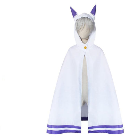 Re:Zero Starting Life in Another World Emilia Cosplay Costume Cloak