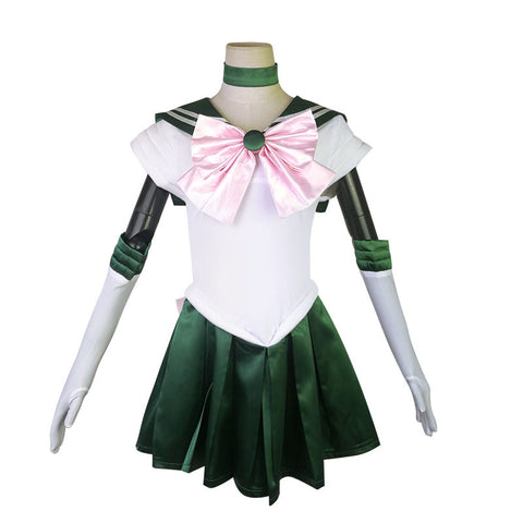 Sailor Moon Sailor Jupiter Cosplay Costume Full Set Halloween Costume