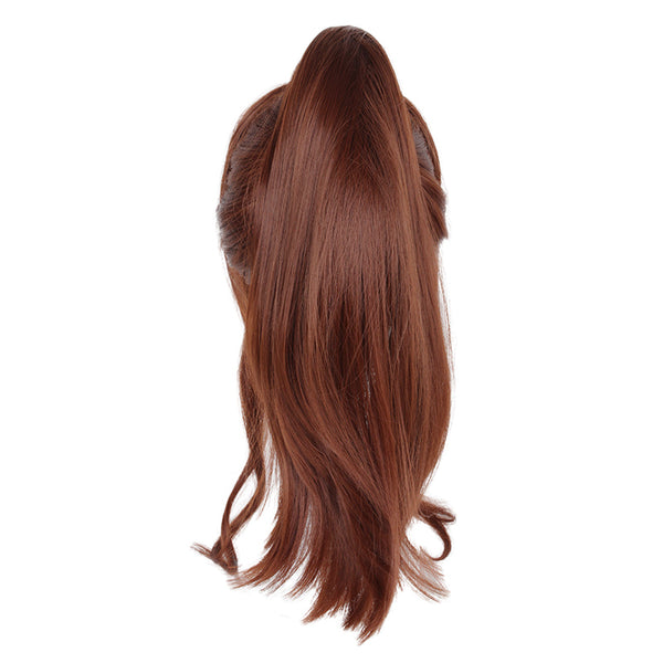 Sailor Moon Sailor Jupiter Makoto Kino Cosplay Long Brown Wigs