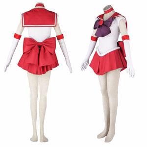 Sailor Moon Sailor Mars Raye Hino Cosplay Costume Halloween