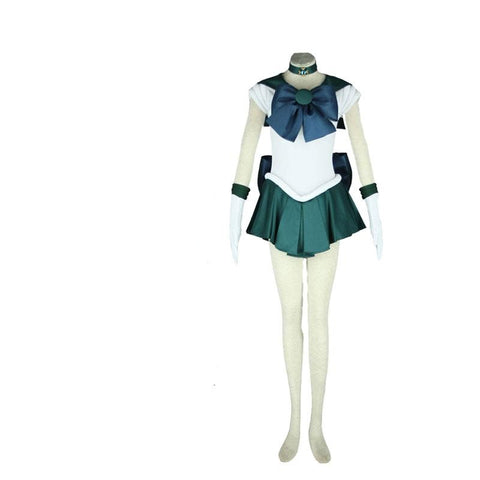 Sailor Moon Sailor Neptune Kaiou Michiru Cosplay Costume Halloween