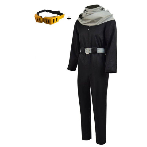 My Hero Academia Eraserhead Shota Aizawa Cosplay Costume With Glasses