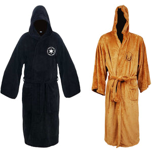 Star Wars: Galactic Empire Jedi Black Sith Robe Star Wars Bathrobe Cape Cloak