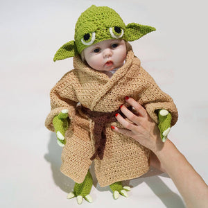 Star Wars Yoda Baby Costume Photography Clothing Props