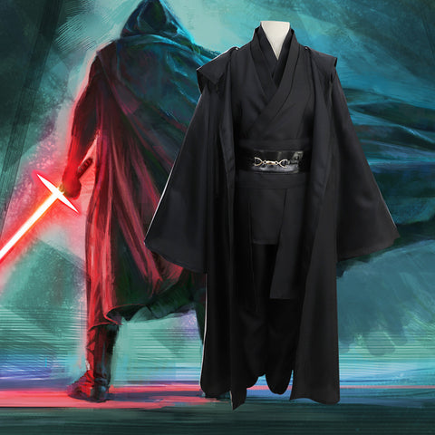 Star Wars Deluex Version Jedi Anakin Skywalker/Sith Cosplay Costume Halloween Costume