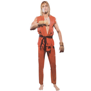Street Fighter Ken Adult Cosplay Costume Halloween / Party Costume