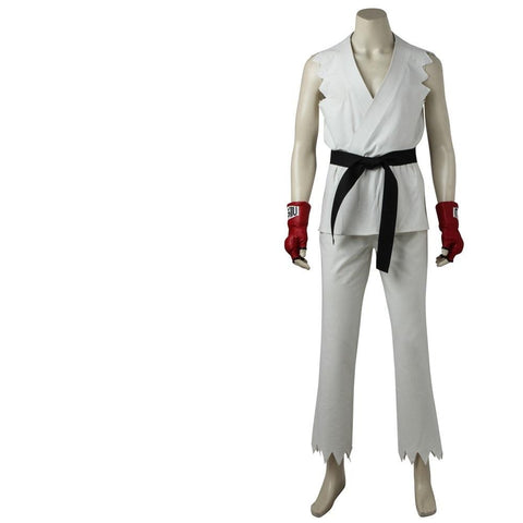 Street Fighter Ryu Adult Cosplay Costume Halloween / Party Costume
