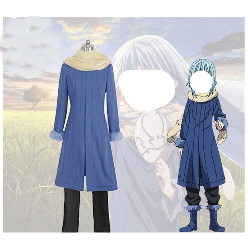 That Time I Got Reincarnated as A Slime Tensei Shitara Suraimu Datta Ken Rimuru Cosplay Costume Deluxe Version