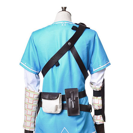 The Legend Of Zelda Breath Of The Wild Link Cosplay Costume Halloween