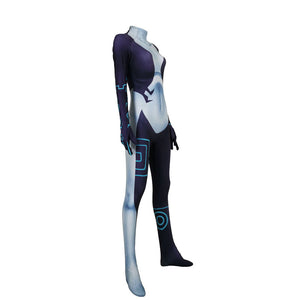 The Legend of Zelda Twilight Princess Midna Cosplay Costume Zentai Bodysuit