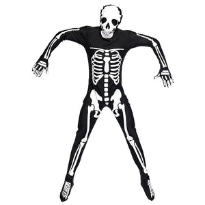 Vampire Zombie Skeleton Cosplay Costume Jumpsuit For Halloween Party Performance
