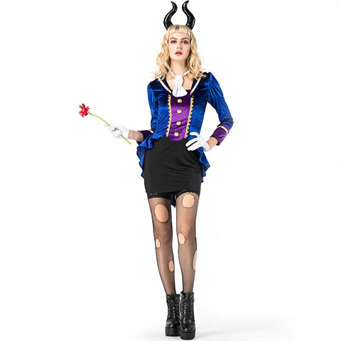 Women Bull Demon King Warrior Cosplay Costume For Halloween Party Performance