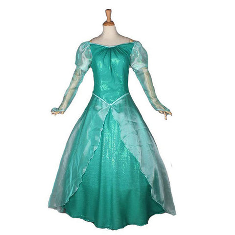 Adult Disney Little Mermaid Ariel Princess Dress Costume Halloween / Stage Performance / Party