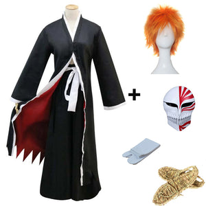 Anime Bleach Kurosaki Ichigo Cosplay Costume Full Set