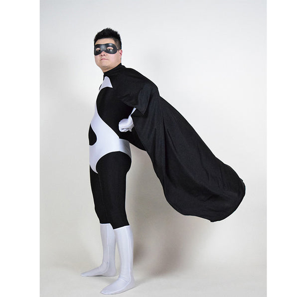 The Incredibles Black Syndrome Cosplay Zentai Costume Aults Unisex