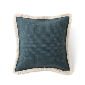 FRINGE COTTON CUSHION COVER