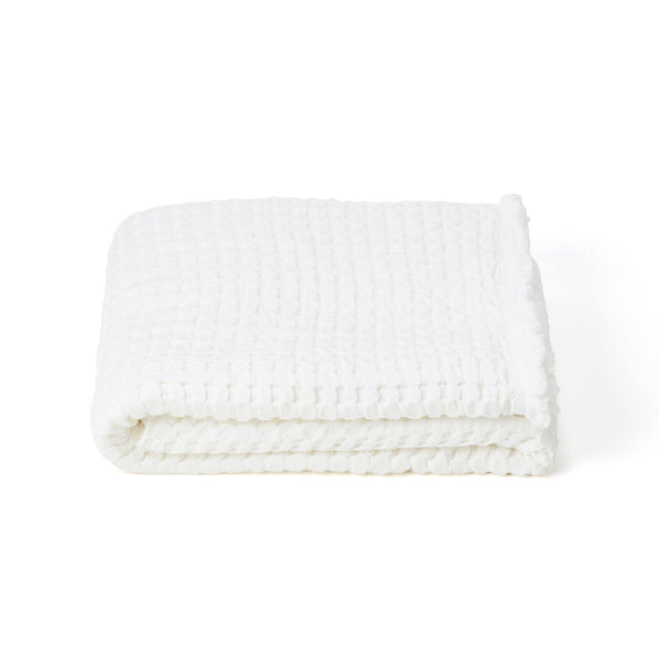 WAFFLE BLANKET 180x240 WH